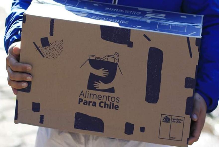 Comienza segunda entrega de cajas de alimentos en Machalí