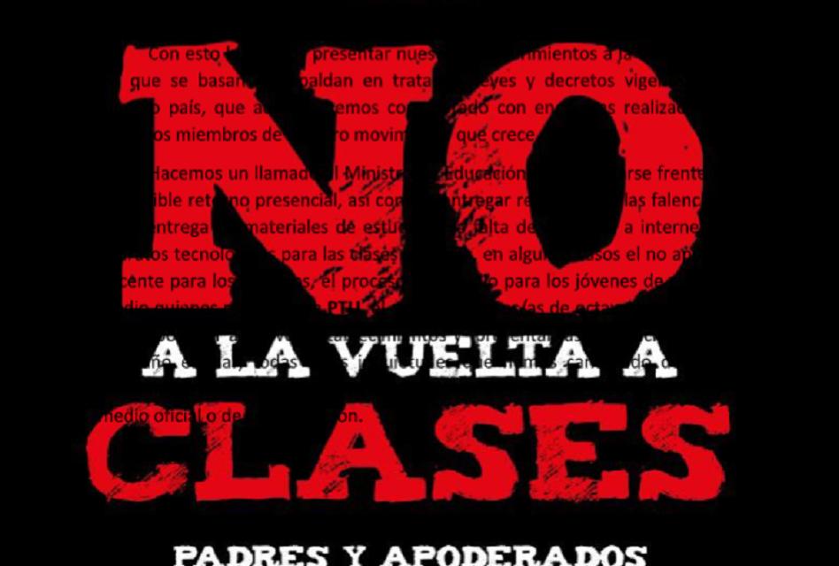 Ofician a Ministro de Educación exigiendo la suspensión de clases