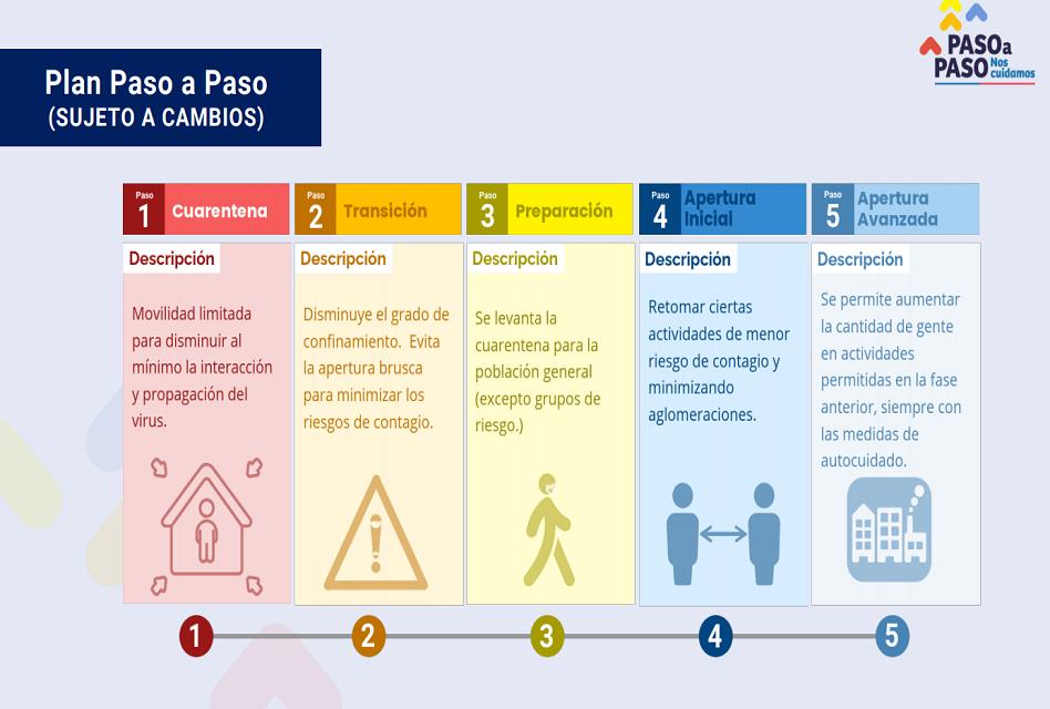 «Paso a Paso»: Presentan plan ante un eventual desconfinamiento