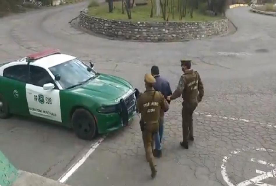 Detienen a sujeto que habría robado cables de cobre en Coya