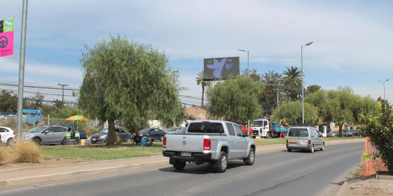 24% subió el flujo vehicular en Machalí y Rancagua en el primer mes de cuarentena
