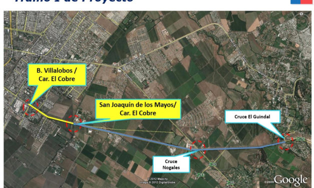 MOP O'Higgins anuncia licitación de tramo 1 de la Ampliación de la Carretera El Cobre