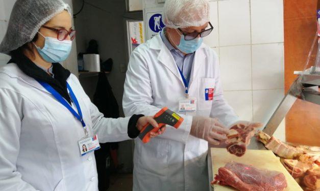 Seremi de Salud fiscaliza en carnicerías protocolos Covid-19 y condiciones sanitarias de los productos