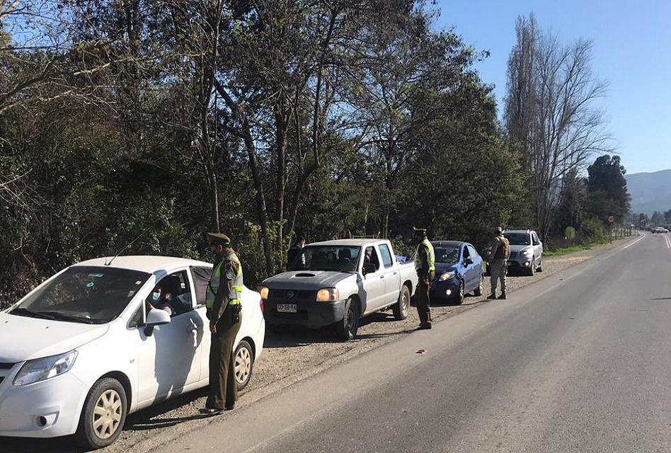 14 detenidos en Machali por incumplir cuarentena total y normas sanitarias