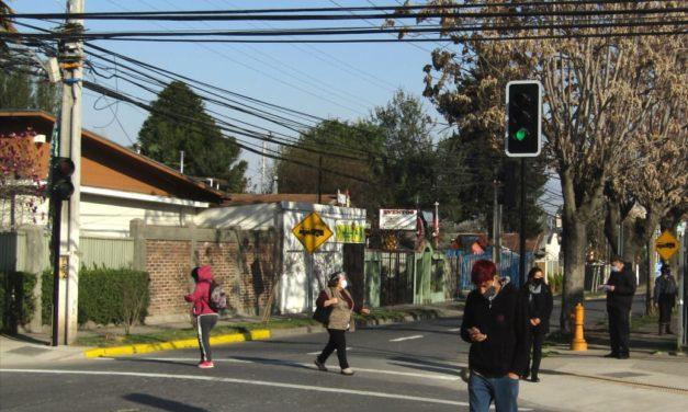 Habilitan esperado semáforo en Miranda con Arturo Prat