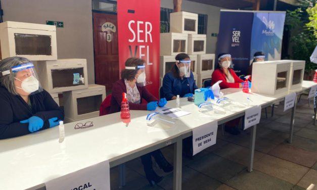 Plebiscito: Vocales de mesas deben presentarse el sábado y domingo