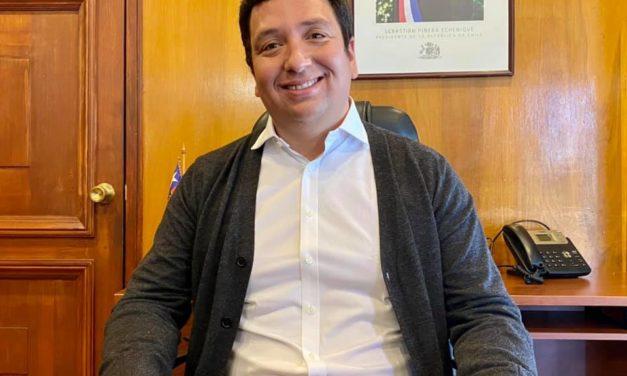Gonzalo López asume como Alcalde de Machali
