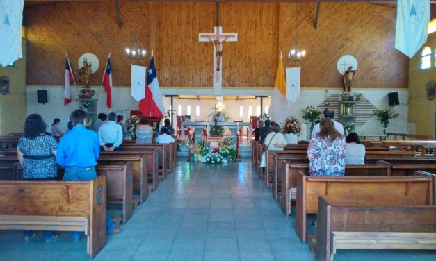 Este domingo vuelven las misas presenciales a Machalí