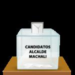 Listado de Candidaturas aceptadas a Alcalde de Machalí