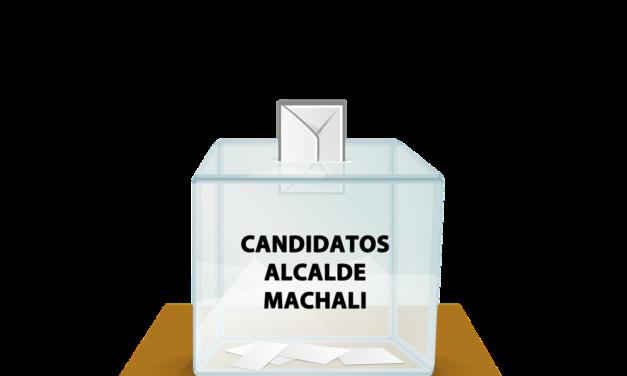 Listado Candidatos a Alcalde de Machali