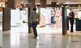 Investigan muerte de hombre que cayó del tercer piso del Mall de Rancagua