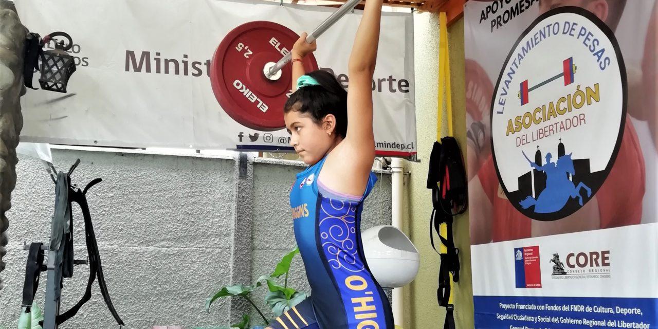 Levantadores de pesas de la región representarán a Chile en Copa Panamericana