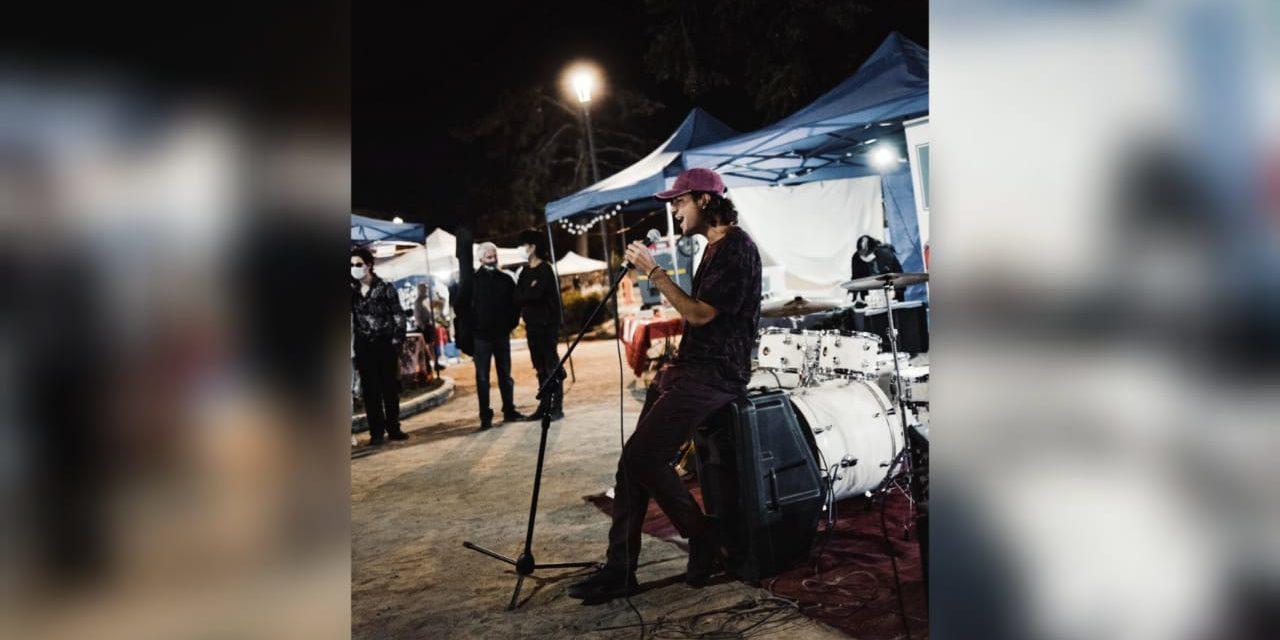 Joven machalino lanza proyecto musical