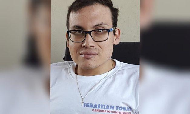 Conoce al Candidato a Constituyente Sebastián Tobar