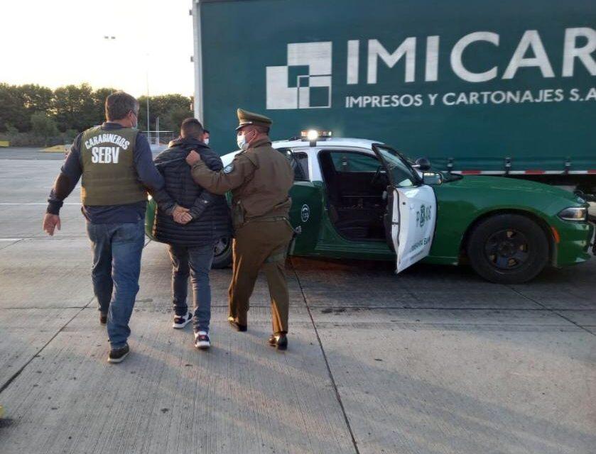 En tiempo récord Carabineros recuperaron auto robado en Machalí