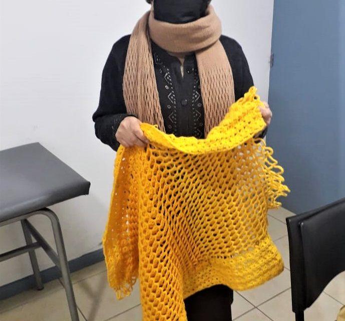 """Salud Machalí invita a los adultos mayores de la comuna a la campaña """"Ayuda Tejiendo»"""