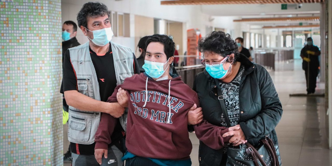 Paciente con síndrome de down de Valparaíso venció el COVID-19 en el Hospital Regional Libertador Bernardo O´Higgins
