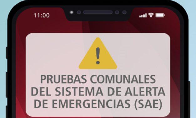 Sistema de Alerta de Emergencias (SAE) será probado en Machali este jueves