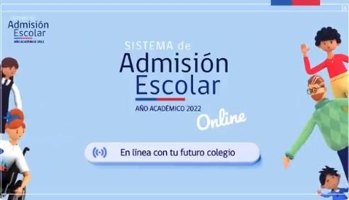 Apoderados ya pueden registrarse en el Sistema de Admisión Escolar y conocer colegios antes de la postulación