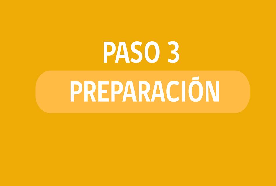 Nuevo Paso a Paso: ¿Qué se puede hacer en Fase 3 de Preparación?