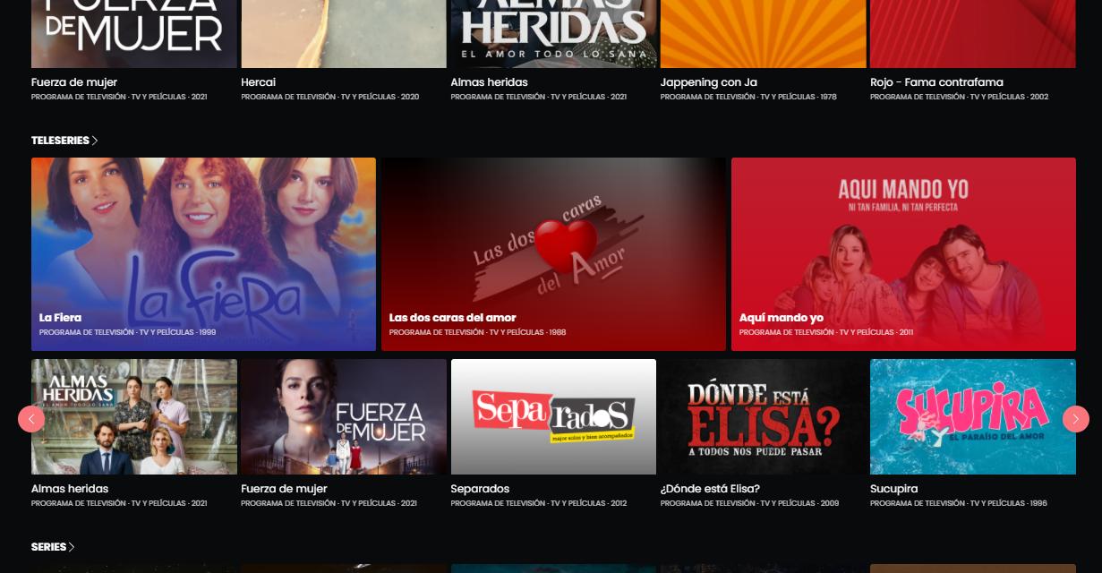 TVN lanzú su propio Netflix: TVN Play