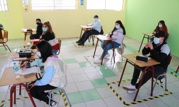 Colegios municipales de Machali regresan gradualmente a clases presenciales