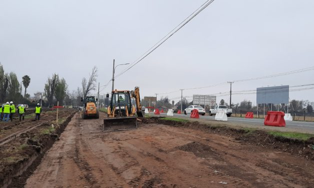 Solicitan a comunidad paciencia para próximos meses por obras de construcción doble vía Carretera El Cobre